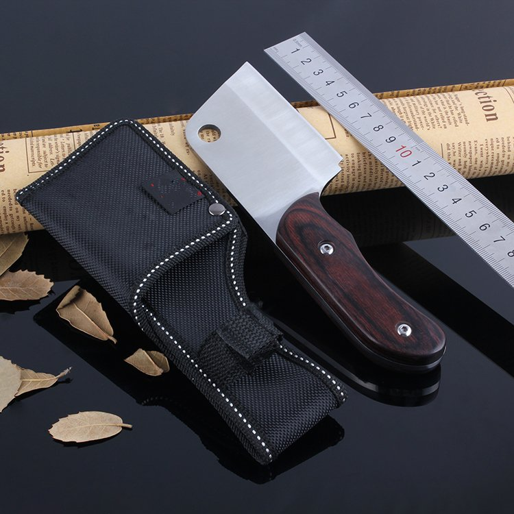 ebony handle tactical hunting knife Camping  kitchen tool High carbon steel ATS-34 carving knif