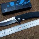 Folding Knife ZT0303S D2 blade G10 Handle outdoor tactical survival pocket gift Knife utility