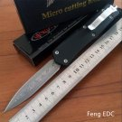 Feng EDC Professional Copy Troodon Damascus D/E Blade Camping Knife Utility Tactical Knives Poc