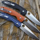 High-end Tactical Folding Knife D2 Blade 60-62HRC Outdoor Camping hunt utility Knife Pocket Kn