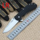LR pocket tactical folding knife Stainless steel blade Nylon and glass fiber handle outdoor cam