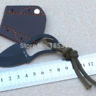 2pcs/lotTactical Claw EDC survival  faca Karambit  Knife mini pocket knife with Leather Sheath