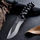 arrive Hunting Knife Fixed Blade 5CR13MOV Blade Rubber Handle Tactical Survival Tool Outdoor C