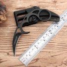 Cool United Karambit knife Sharp 7CR17 steel black Counter Strike Fighting tactical knife campi