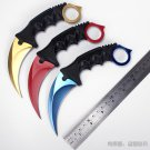 CS GO counter strike karambit knife outdoor Hunting camping knives Fighting Survival Tactical n