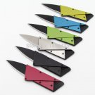 3rd  version Portable knife tool card Multi-purpose Stainless Steel handle Credit Card knife Fo