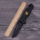 Multifunctional folding knife 440C black fixed blade camping survival Rescue knives SOG tactic