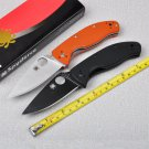 Hot selling 58HRC 8Cr13mov blade G10 handle 2 Colors folding knife outdoor camping survival too