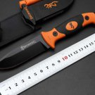 Option Browning Fixed Blade Knife 7Cr15Mov Blade Tactical Knife,EDC Camping Tools,Survival Kni