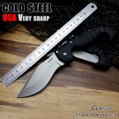 Cold Steel Camping Folding Knives Very Sharp  ABS engineering plastic handle Camping Outdoor Su