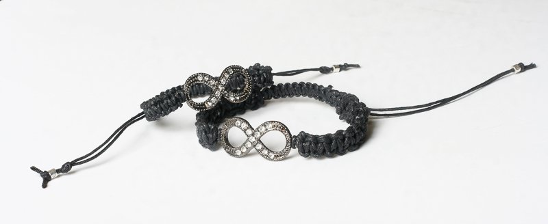 Unisex bracelets infinity. Gift for him and her.