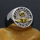 US Marine Corps Force Recon USMC Military Jewelry Sterling Silver Ring