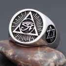 The Eye of Horus Ancient Egyptian Symbol Protection Royal Power Amulets Egypt Cross Ankh Ring
