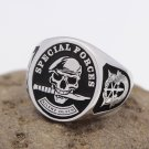 United States Army Special Forces Green Berets 925 Sterling Silver Ring