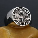 US Marine Corps Force Recon USMC Military Sterling Silver Ring