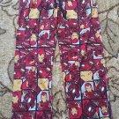 Marvel Mens Captain America Civil War Lounge Pants Pant Pajama Bottoms Small NWT
