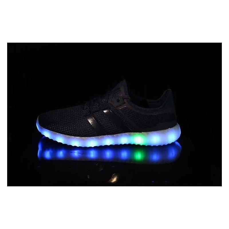 Light LED Shoes Mens Sports Sneakers White / Black / Green / Orange