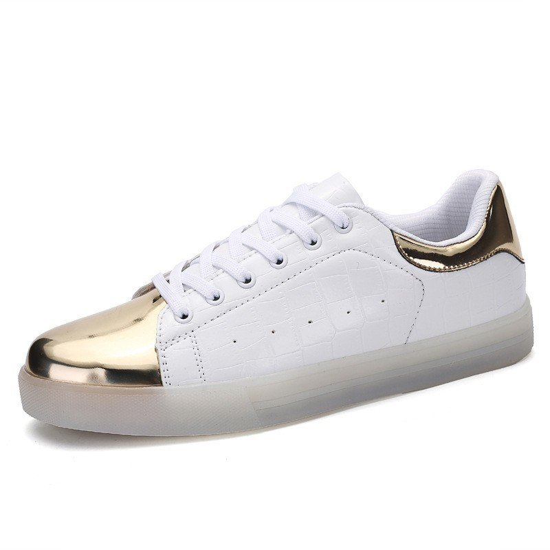 7 Color Light Up Sport Shoes White