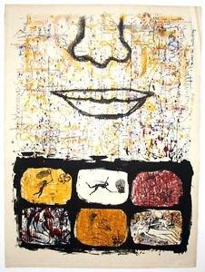 Foldes Peter rare  Original Lithograph om BFK Paper