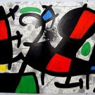 joan miro  original lithograph From D.L.M art magazine-1970