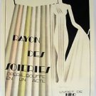 "Dufrene Maurice  ""Rayon des Soieries"" Original Poster rare large dimensions"