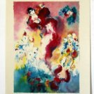 """Edward Ben Avram """"THE VIOLINIST"""" Hand Signed and Numbered 9/50 Serigraph"""