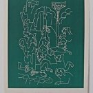 """LAPICQUE  Charles –""""La femme aux Chiens"""" Hand signed and numbered 48/50"""