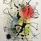 "Miro Joan ""Diana the Huntress"" lithograph  From ""Derriere le Miroir"" 1965"