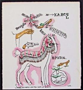 """Van Dongen Kees- Pochoir illustrate the book """"Les Plus Beaux Contes De Kipling""""."""