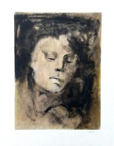 "Fini Leonor ""La jeune mémoire"",  1975- Hand Signed by Fini with pencil + E.A."