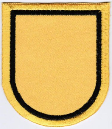 1st Special Forces Group Beret Flash United States Army Badge Iron On Embroidered Patch