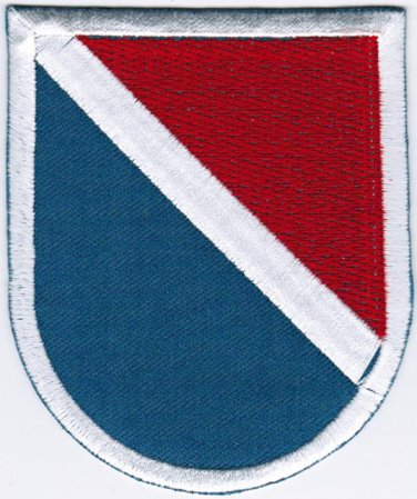 11th Special Forces Group United States Army Badge Iron On Embroidered Patch 2.9x3.45