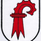Canton of Basel-Landschaft Coat of Arms Switzerland Swiss Confederation Embroidered Patch 2.5x3