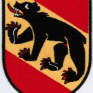 Canton of Bern Coat of Arms Switzerland Swiss Confederation Iron On Embroidered Patch 2.5x3