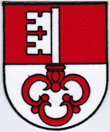 Canton of Obwalden Coat of Arms Switzerland Swiss Confederation Iron On Patch 2.5x3 Embroidered