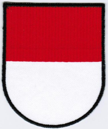 Canton of Solothurn Coat of Arms Switzerland Swiss Confederation Iron On Embroidered Patch 2.5x3