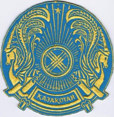 Human Space Flights Soyuz TMA-18M Eridanus Russia Kazak Badge Iron On Embroidered Patch
