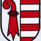 Republic and Canton of the Jura Coat of Arms Switzerland Iron On Embroidered Patch 2.5x3