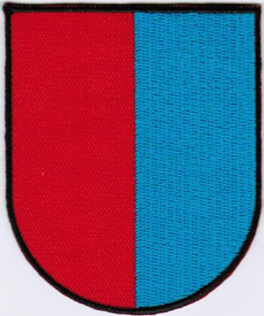 Republic and Canton of Ticino Coat of Arms Switzerland Swiss Confederation Embroidered Patch 2.5x3