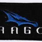 Space Exploration Technologies Corporation SpaceX Dragon Emblem Logo #2 Patch 4x1.7 Embroidered