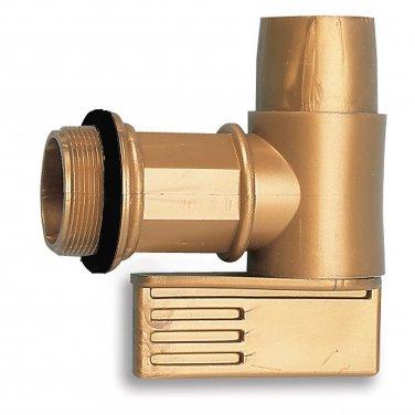 "2"" Gold Polyethylene Faucets - Drum Handling Equipment"