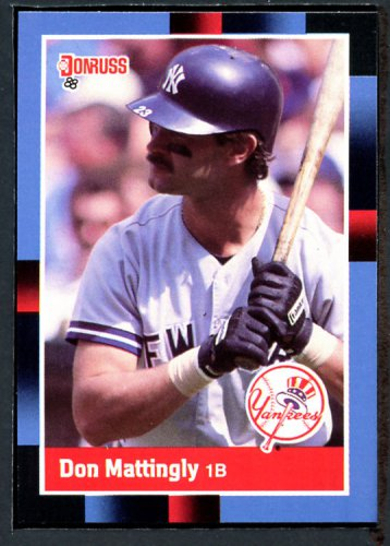 1988 Donruss #217 Don Mattingly YANKEES