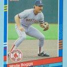 1991 Donruss Wade Boggs Boston Red Sox #178