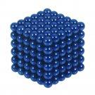 216pcs 5mm DIY Buckyballs Neocube Magic Beads Magnetic Toy Dark Blue