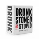 DRUNK STONED OR STUPID Party Cards Game NEW Sealed - Free Delivery