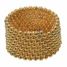 216pcs 3mm DIY Buckyballs Neocube Magic Beads Magnetic Toy Golden