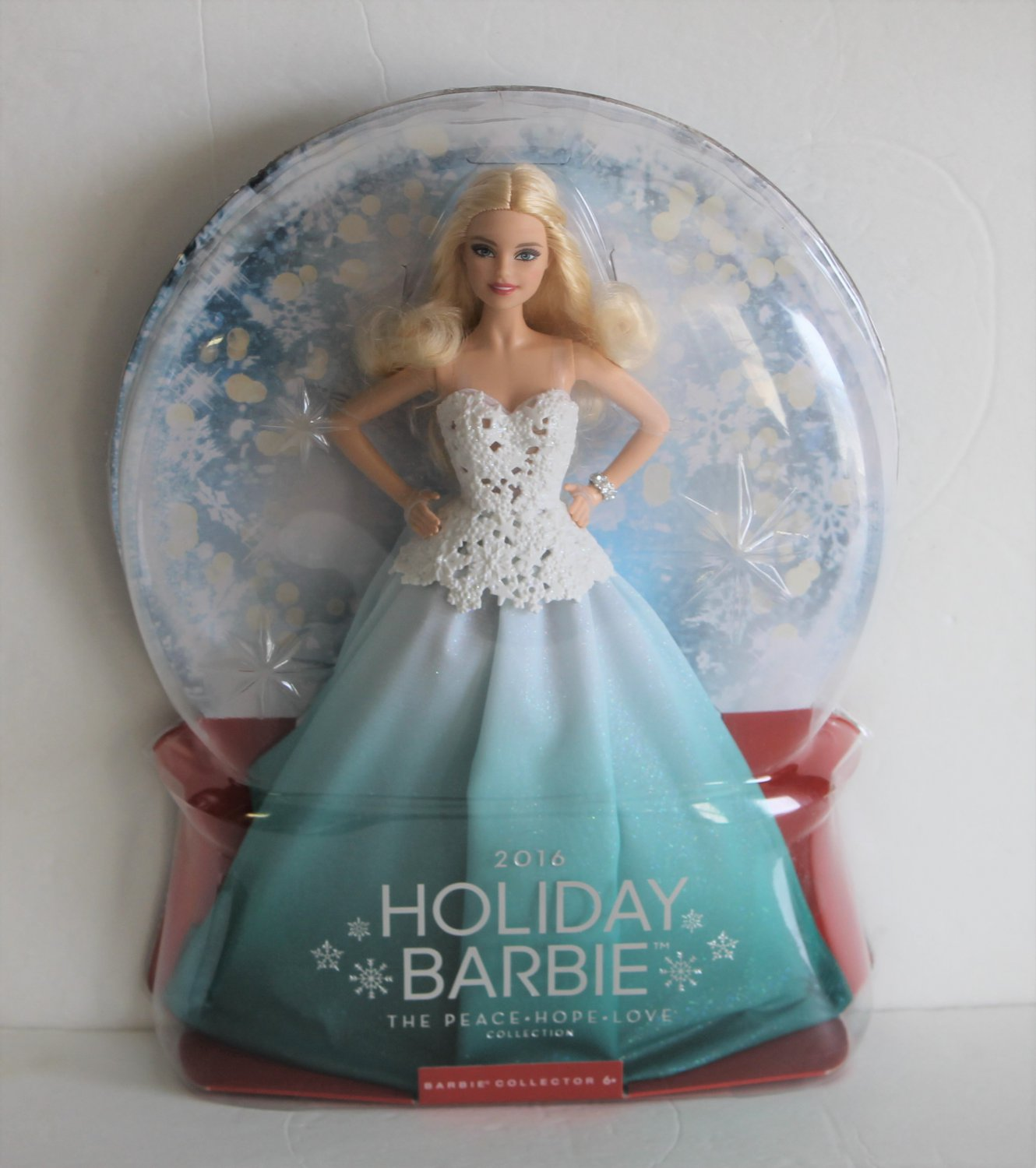 New 2016 Holiday Barbie Peace Hope Love Collection