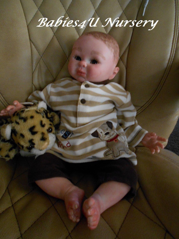 Reborn Baby Doll Boy  20 inches 'Everett'