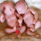 "Reborn Baby Doll Twins ""Micro Preemie"""