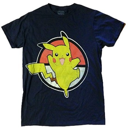 Pikachu and Ball Size Medium Tee Shirt